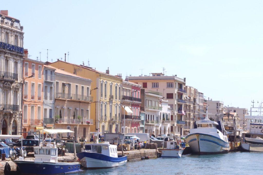Hôtel l'Orque Bleue Sète canal royal