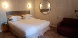 Hôtel Orque Bleue chambre lits séparés