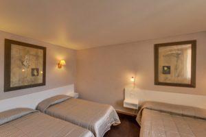 Hôtel Orque Bleue chambre quadruple
