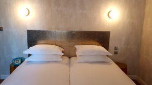 Hôtel Orque Bleue chambre twin