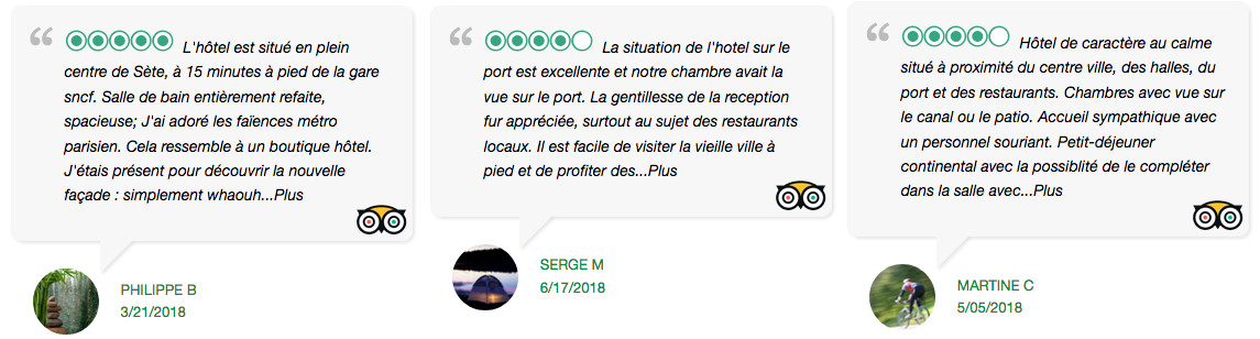 Hôtel l'Orque Bleue Avis tripadvisor
