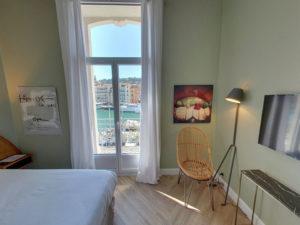 Hôtel Orque Bleue chambre double canal