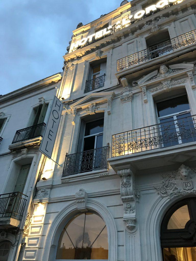 Hôtel l'Orque Bleue la façade