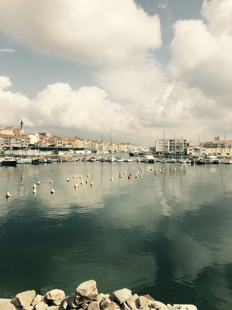 Hôtel Orque Bleue vue de Sète