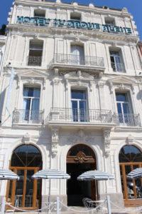 Hôtel Orque Bleue façade jour